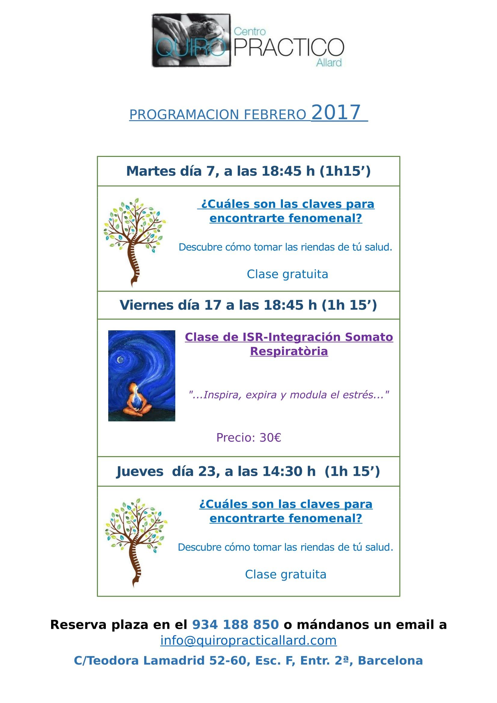 CALENDARIO TALLERES FEBRERO'17-1