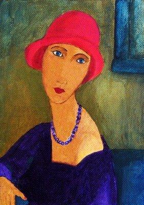 'Janie'-after-Modigliani