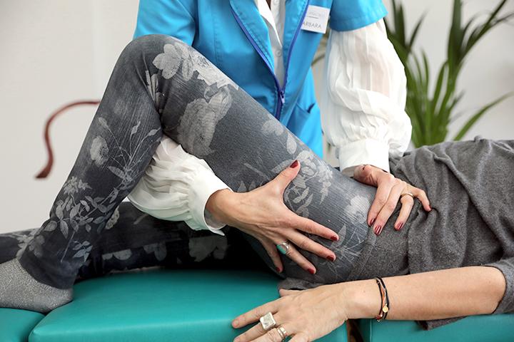 Ajuste quiropractico del sacro