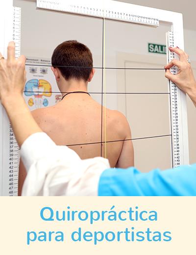 Quiropractica para deportistas