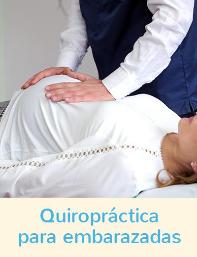 Quiropractica para embarazdas
