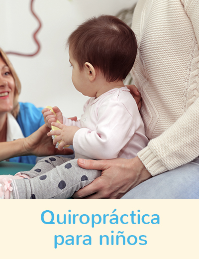 Quiropractica para niños